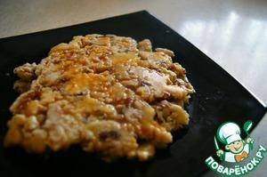 Рецепт Банановый омлет с сиропом