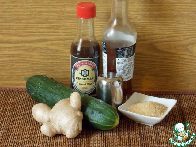 """Как приготовить Японский огуречный салат """"Суномоно"""" домашний рецепт с фотографиями пошагово #1"""