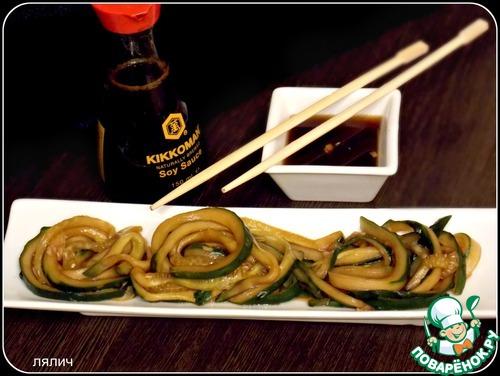 """Как приготовить Японский огуречный салат """"Суномоно"""" домашний рецепт с фотографиями пошагово #5"""