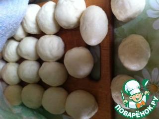 """Как приготовить Постные булочки """"Жаворонки"""" домашний пошаговый рецепт с фото #6"""