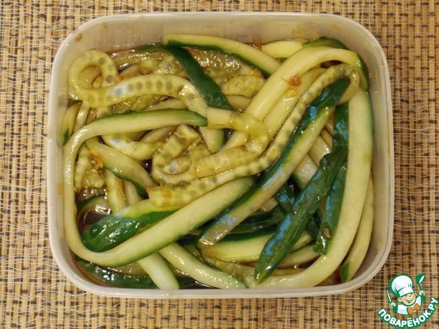 """Как приготовить Японский огуречный салат """"Суномоно"""" домашний рецепт с фотографиями пошагово #3"""