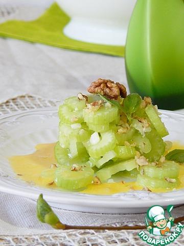 Салат из маринованного сельдерея домашний рецепт приготовления с фотографиями пошагово #7