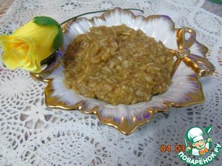 Готовим домашний рецепт приготовления с фото Блинный пирог с яблоками и корицей #3