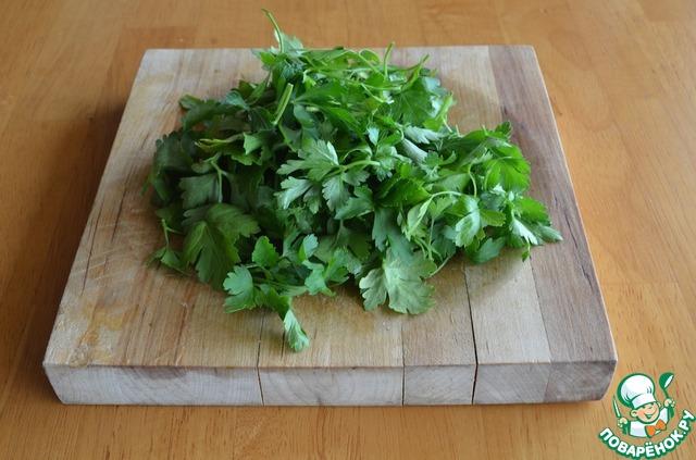 Как готовить Салат из капусты с заправкой из брынзы простой рецепт с фото пошагово #2