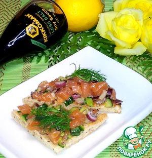 Как приготовить Тартар из лосося домашний рецепт с фотографиями пошагово на Новый Год