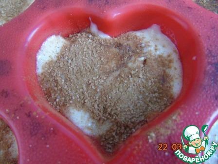 Как готовить рецепт с фотографиями Кекс с орешками на кефире #3