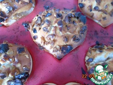 Как готовить рецепт с фотографиями Кекс с орешками на кефире #6
