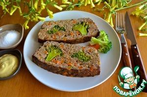 Рецепт Запеканка из курицы с брокколи