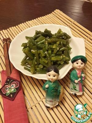 Рецепт Стрелки чеснока по-корейски