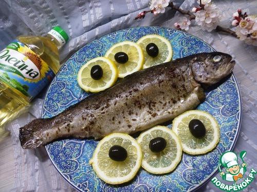 Форель, запеченная с пряностями домашний рецепт приготовления с фото пошагово готовим #8