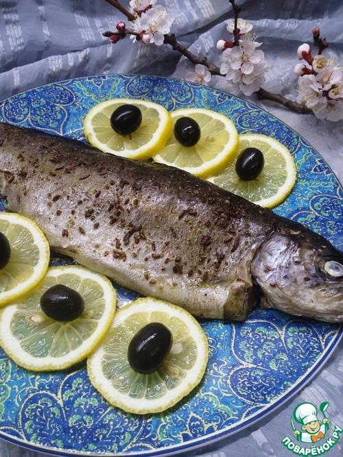 Форель, запеченная с пряностями домашний рецепт приготовления с фото пошагово готовим #9