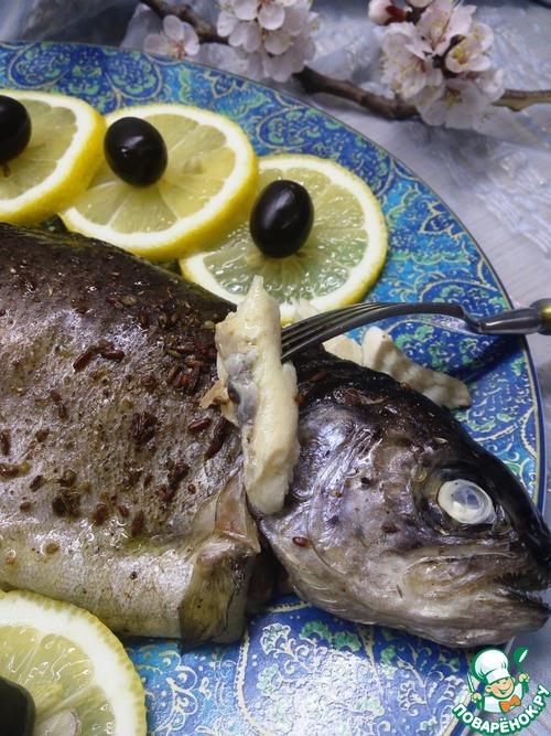 Форель, запеченная с пряностями домашний рецепт приготовления с фото пошагово готовим #10