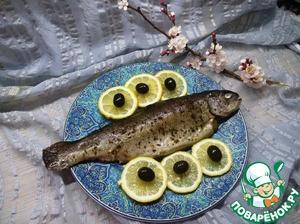 Форель, запеченная с пряностями домашний рецепт приготовления с фото пошагово готовим на Новый Год