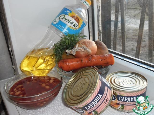Готовим домашний рецепт приготовления с фото Суп из рыбных консервов #1