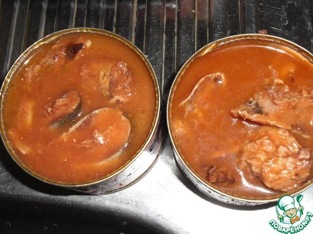 Готовим домашний рецепт приготовления с фото Суп из рыбных консервов #5