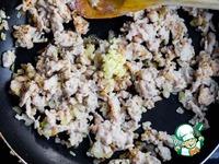 Веер из баклажана с куриным рагу ингредиенты