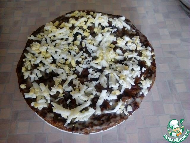 Торт из говяжьй печени домашний рецепт с фото пошагово #8