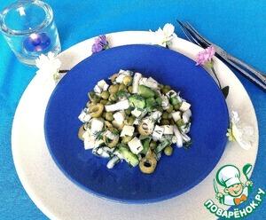 Готовим Салат с овощами и сулугуни рецепт с фотографиями пошагово на Новый Год