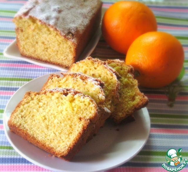 Апельсиновый кекс из кукурузной муки простой рецепт приготовления с фотографиями пошагово #6