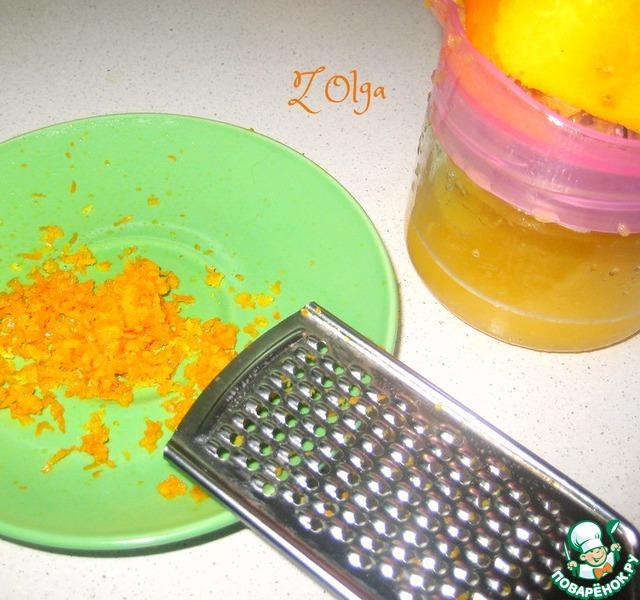 Апельсиновый кекс из кукурузной муки простой рецепт приготовления с фотографиями пошагово #1