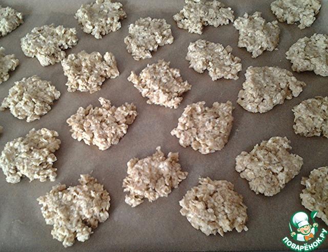 """Готовим простой рецепт приготовления с фото Овсяное печенье без муки """"Геркулес"""" #6"""