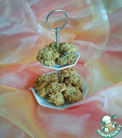 """Готовим простой рецепт приготовления с фото Овсяное печенье без муки """"Геркулес"""" #7"""