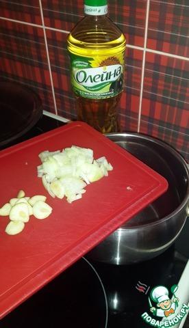 Домашний рецепт приготовления с фотографиями Суп-пюре из горошка с морковными рулетами #1