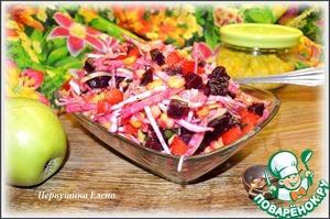 Как приготовить Фруктово-овощной салат