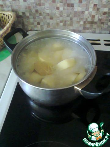 Суп-пюре из цветной капусты домашний пошаговый рецепт приготовления с фотографиями #1