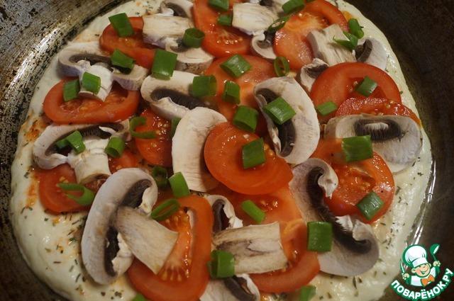 """Как готовить Пицца """"Диетическая"""" простой рецепт с фото #7"""
