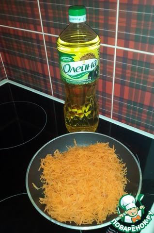 Домашний рецепт приготовления с фотографиями Суп-пюре из горошка с морковными рулетами #4