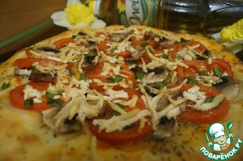 """Как готовить Пицца """"Диетическая"""" простой рецепт с фото #10"""