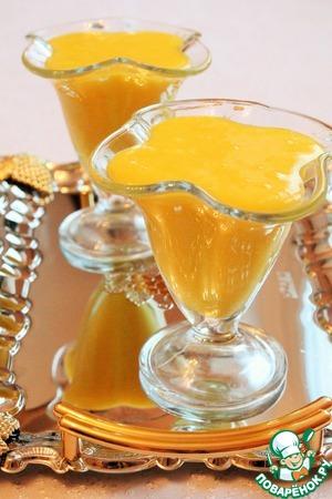 Рецепт Апельсиново-миндальный десертный крем