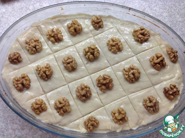 Как приготовить Пахлава домашний пошаговый рецепт с фото #16