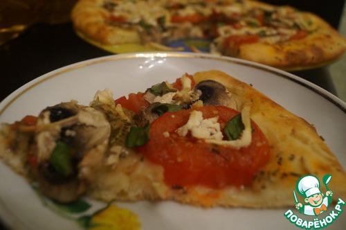 """Как готовить Пицца """"Диетическая"""" простой рецепт с фото #12"""