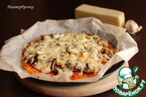 Рецепт Пицца на морковной основе