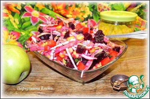"""Как приготовить Фруктово-овощной салат """"Весенние этюды"""" рецепт приготовления с фото пошагово #11"""