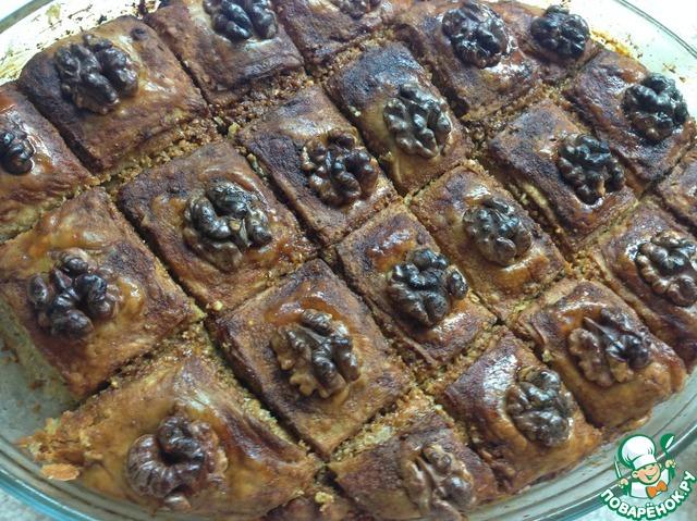 Как приготовить Пахлава домашний пошаговый рецепт с фото #21