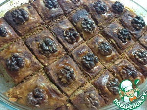 Как приготовить Пахлава домашний пошаговый рецепт с фото на Новый Год