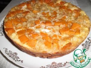 Рецепт Творожно-тыквенный пирог