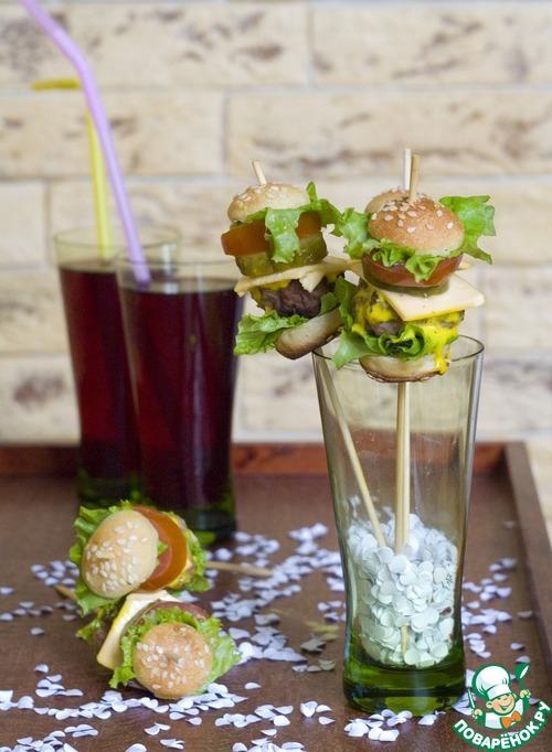 Мини-гамбургеры для детей и взрослых рецепт приготовления с фотографиями пошагово готовим #28
