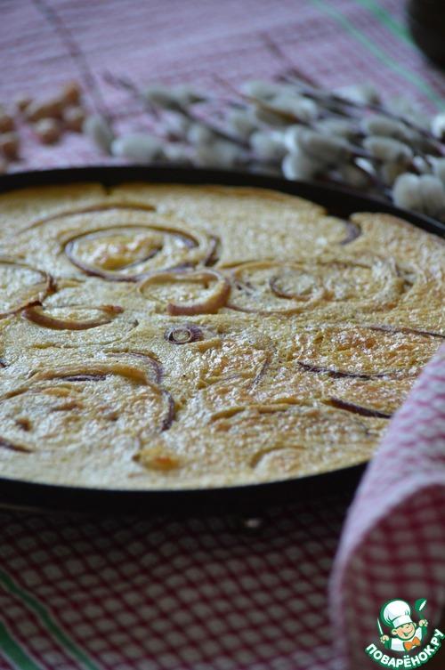 Фарината с красным луком простой рецепт с фото пошагово #8