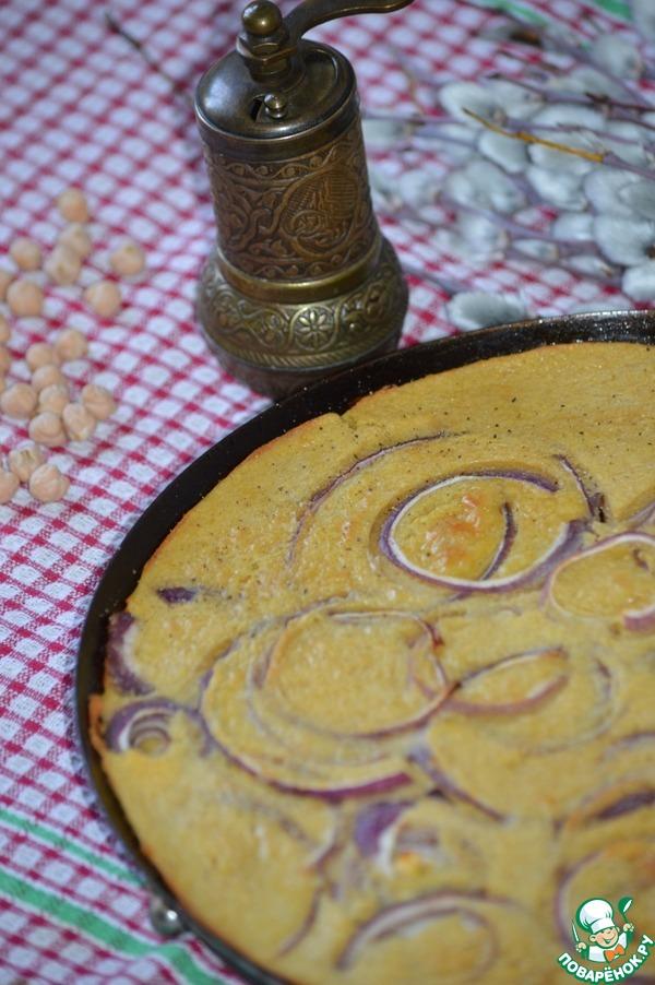 Фарината с красным луком простой рецепт с фото пошагово #6