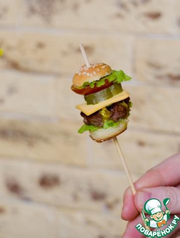 Мини-гамбургеры для детей и взрослых рецепт приготовления с фотографиями пошагово готовим #26