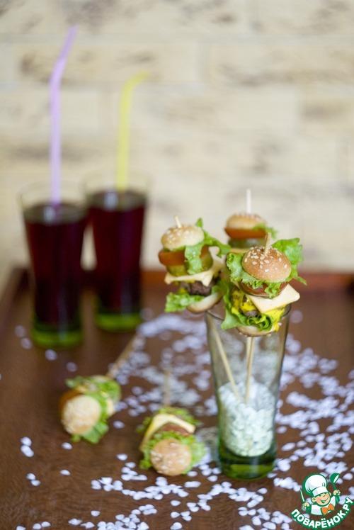 Мини-гамбургеры для детей и взрослых рецепт приготовления с фотографиями пошагово готовим #29