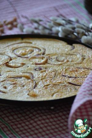 Фарината с красным луком простой рецепт с фото пошагово на Новый Год