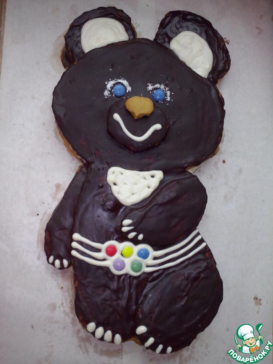 Торт медведь рецепт пошагово