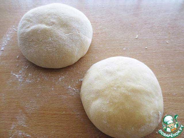 """Турецкая пицца """"Пиде"""" пошаговый рецепт приготовления с фотографиями #17"""
