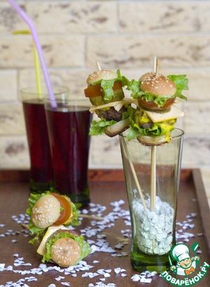 Мини-гамбургеры для детей и взрослых рецепт приготовления с фотографиями пошагово готовим