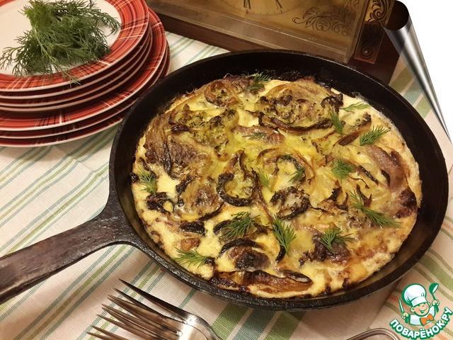 Сковорода по деревенски рецепт